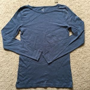 NWT JCrew Blue Painter Tee